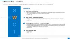 SWOT Analysis Weakness Information PDF
