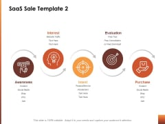 Saas Sale Awareness Ppt Powerpoint Presentation Infographic Template Icons