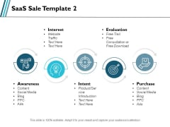 Saas Sale Social Media Ppt PowerPoint Presentation Inspiration Templates