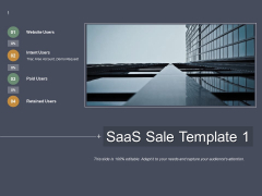Saas Sale Template Business Ppt Powerpoint Presentation Gallery Example