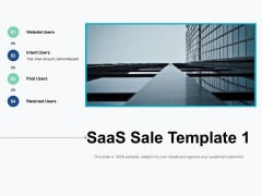 saas sale template business ppt powerpoint presentation infographics design inspiration