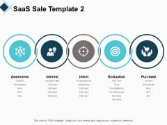 Saas Sale Template Strategy Ppt PowerPoint Presentation Portfolio Sample