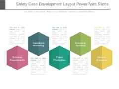 Safety Case Development Layout Powerpoint Slides