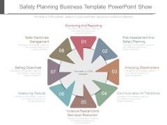Safety Planning Business Template Powerpoint Show