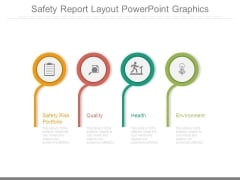 Safety Report Layout Powerpoint Graphics
