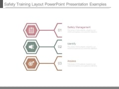 Safety Training Layout Powerpoint Presentation Examples