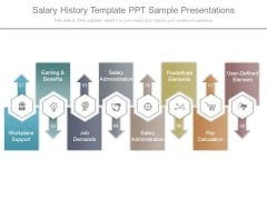 Salary History Template Ppt Sample Presentations