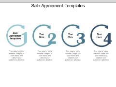 Sale Agreement Templates Ppt PowerPoint Presentation Portfolio Outline