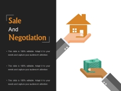 Sale And Negotiation Template 1 Ppt PowerPoint Presentation Microsoft