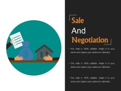 Sale And Negotiation Template 2 Ppt PowerPoint Presentation Samples
