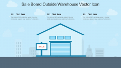 Sale Board Outside Warehouse Vector Icon Ppt PowerPoint Presentation File Background Image PDF