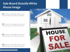 Sale Board Outside White House Image Ppt PowerPoint Presentation File Structure PDF