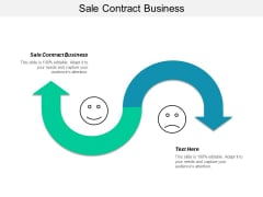 Sale Contract Business Ppt PowerPoint Presentation Inspiration Background Designs