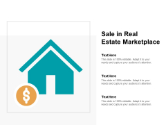 Sale In Real Estate Marketplace Ppt PowerPoint Presentation Layouts Themes
