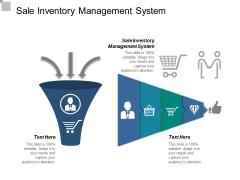 Sale Inventory Management System Ppt PowerPoint Presentation Slides Good