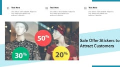 Sale Offer Stickers To Attract Customers Ppt Layouts Example File PDF