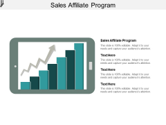 Sales Affiliate Program Ppt PowerPoint Presentation Pictures Template Cpb