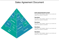 Sales Agreement Document Ppt PowerPoint Presentation Infographics Design Inspiration Cpb