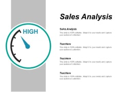 Sales Analysis Ppt PowerPoint Presentation Ideas Layout Ideas Cpb