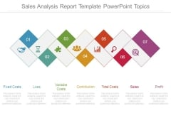 Sales Analysis Report Template Powerpoint Topics