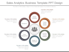 Sales Analytics Business Template Ppt Design