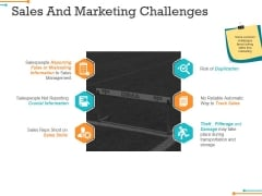Sales And Marketing Challenges Ppt PowerPoint Presentation Layouts Outline