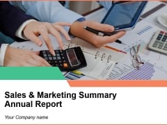 Sales And Marketing Summary Annual Report Sample Ppt