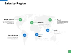 Sales By Region Information Ppt PowerPoint Presentation Styles Example Topics