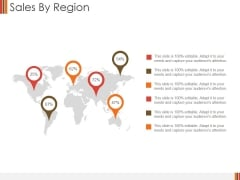 Sales By Region Ppt PowerPoint Presentation Inspiration Example Introduction