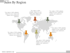 Sales By Regions Ppt PowerPoint Presentation Guide