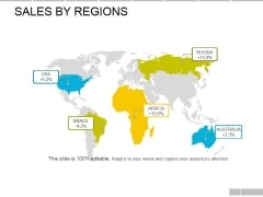 Sales By Regions Ppt PowerPoint Presentation Layouts Slide Download