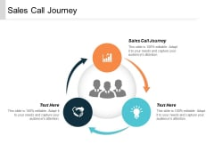 Sales Call Journey Ppt Powerpoint Presentation File Design Templates Cpb
