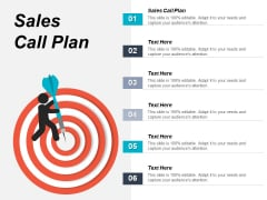 Sales Call Plan Ppt PowerPoint Presentation Outline Objects Cpb
