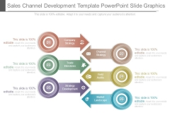 Sales Channel Development Template Powerpoint Slide Graphics