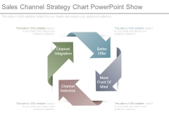 Sales Channel Strategy Chart Powerpoint Show