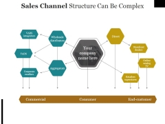 Sales Channel Structure Can Be Complex Ppt PowerPoint Presentation Portfolio Samples