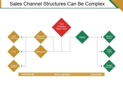 Sales Channel Structures Can Be Complex Ppt PowerPoint Presentation Summary Designs
