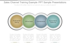 Sales Channel Training Example Ppt Sample Presentations