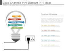 Sales Channels Ppt Diagram Ppt Ideas