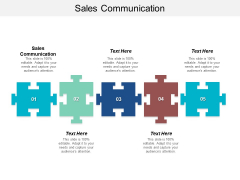 Sales Communication Ppt PowerPoint Presentation Styles Graphics Cpb