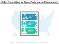 Sales Competition For Sales Performance Management Ppt PowerPoint Presentation Summary Guidelines