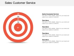 Sales Customer Service Ppt PowerPoint Presentation Ideas File Formats Cpb