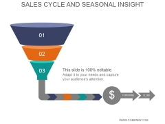 Sales Cycle And Seasonal Insight Ppt PowerPoint Presentation Layouts