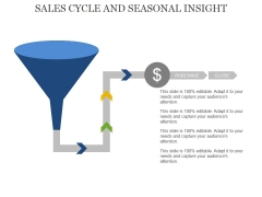 Sales Cycle And Seasonal Insight Template 2 Ppt PowerPoint Presentation Professional Slide Download