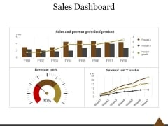 Sales Dashboard Template 1 Ppt PowerPoint Presentation Layouts