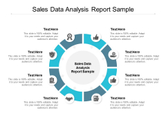 Sales Data Analysis Report Sample Ppt PowerPoint Presentation Summary Example Cpb