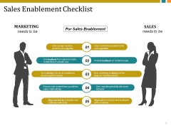 Sales Enablement Checklist Template 1 Ppt PowerPoint Presentation Professional Tips