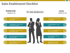 Sales Enablement Checklist Template 2 Ppt PowerPoint Presentation Show Graphics Design