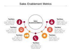 Sales Enablement Metrics Ppt PowerPoint Presentation Icon Mockup Cpb Pdf