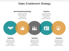 Sales Enablement Strategy Ppt PowerPoint Presentation Ideas Example File Cpb